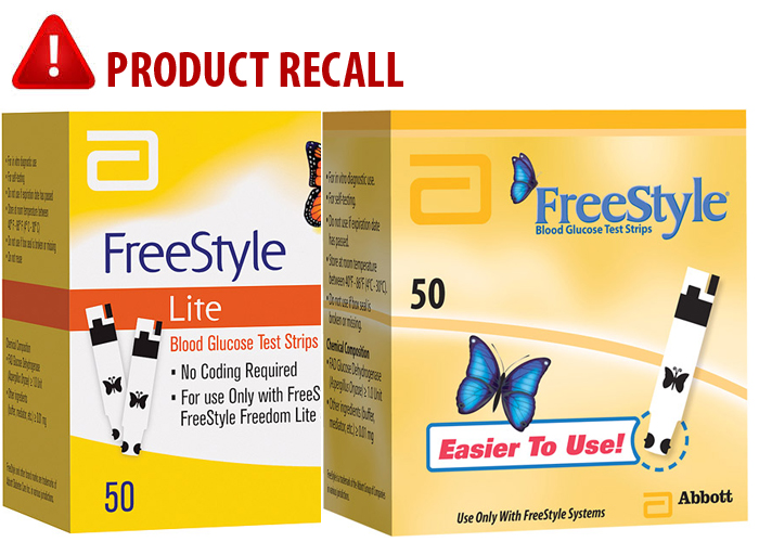 Freestyle and freestyle lite blood glucose test strips by abbott abbott issues voluntary recall of certain freestyle and freestyle lite blood glucose test strips mozeypictures Gallery