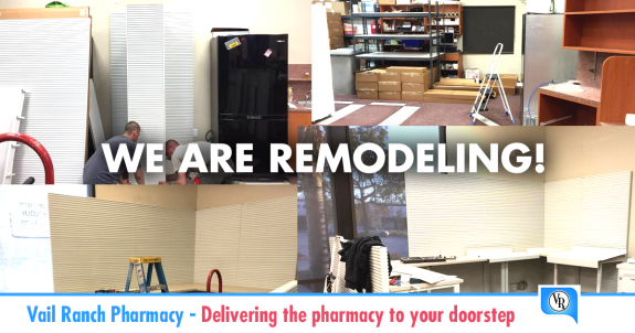 Vail Ranch Pharmacy In Temecula, CA Is Remodeling!