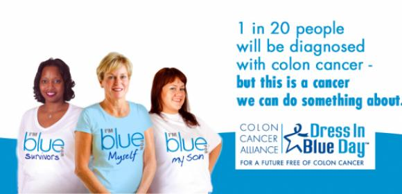 What is Colon Cancer?, March is Wear Blue Month for Colon Cancer Awareness