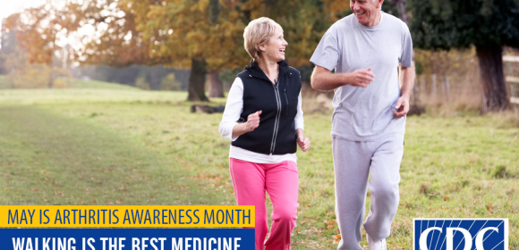 MAY IS ARTHRITIS AWARENESS MONTH AND IS THE PERFECT TIME TO PUMP UP YOUR PHYSICAL ACTIVITY!