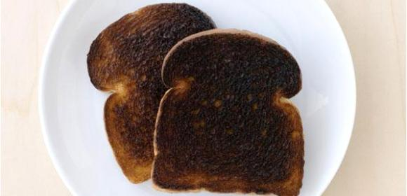 Upset Stomach? How About Some Burnt Toast?