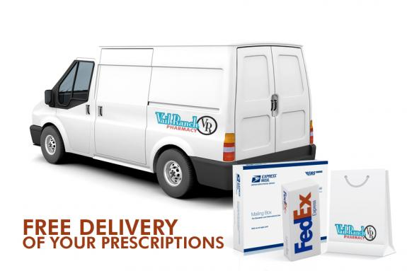 FREE DELIVERY OF PRESCRIPTIONS